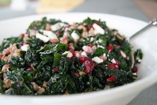 Pomegranate-farro-salad