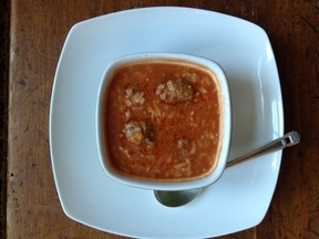 Hearty Albondigas Soup