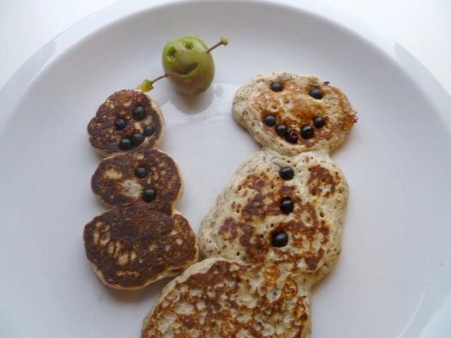 Chia Seed and Buckwheat Pancakes