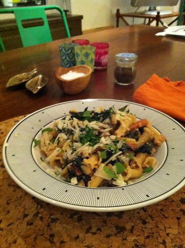 Penne with Kale and Cashew Cream Sauce