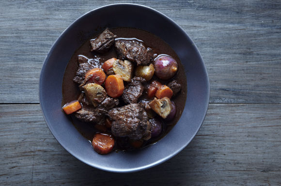 Beef bourguignon from Food52