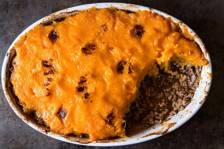 Shepherd's Pie with Sweet Potatoes from Food52