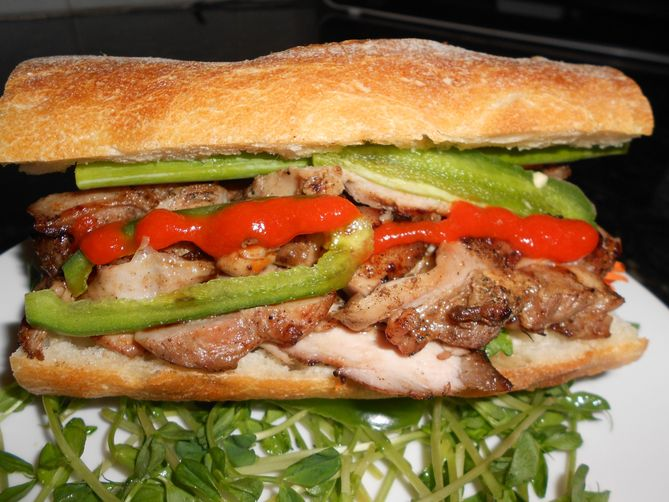 Vietnamese Caramel Shrimp Banh Mi Recipes — Dishmaps