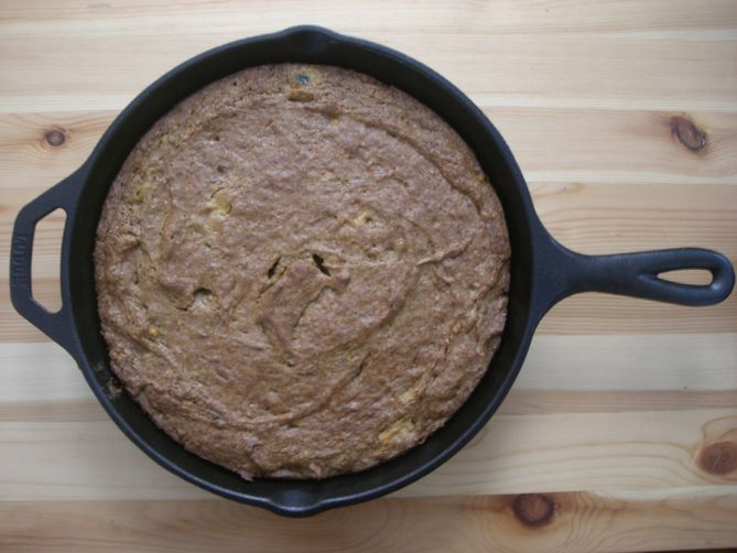 Skillet Persimmon Bread