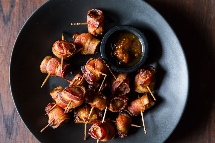 Bacon Wrapped Water Chestnuts on Food52