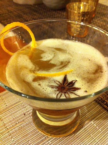 Mulled Manhattan