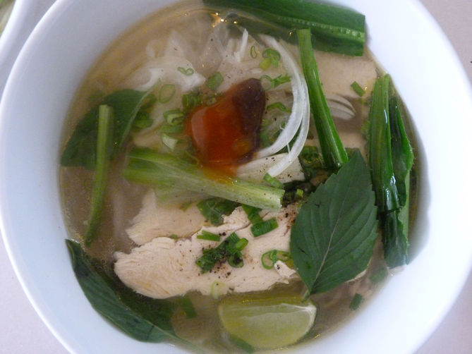 Vietnamese Chicken Noodle Soup