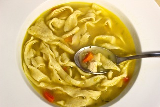 Our Favorite Chicken Noodle Soup with Homemade Noodles
