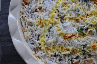 Zafrani Veg Biryani