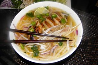 Vietnamese Chicken Noodle SoupPho Ga