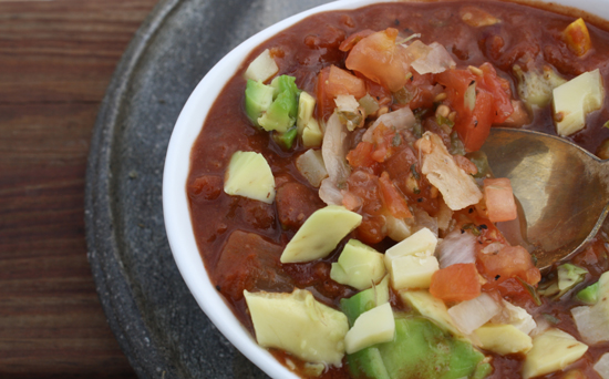 Crockpot Vegetarian Chili with Chocolate