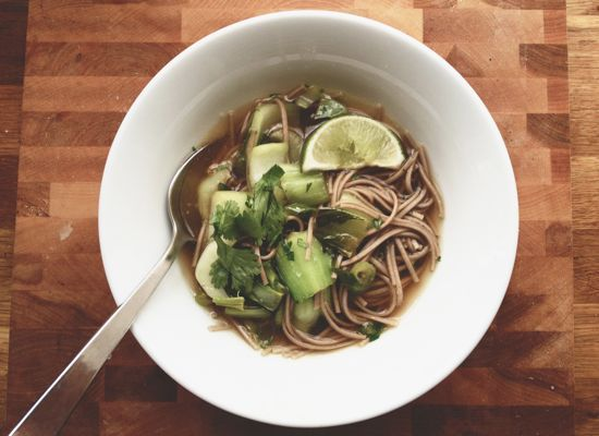 Ginger Noodle Soup