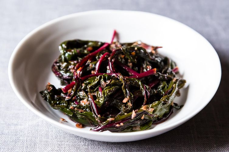 Pink Greens on Food52