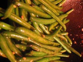 Super Simple Stirfried Green Beans