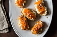 Persimmon Bruschetta