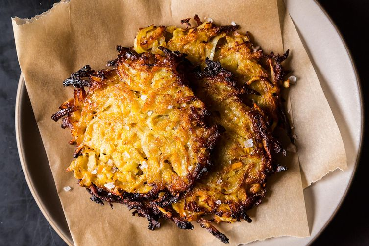 Persimmon Latkes from Food52
