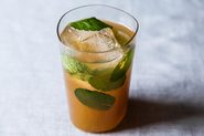 Persimmon Mojitos