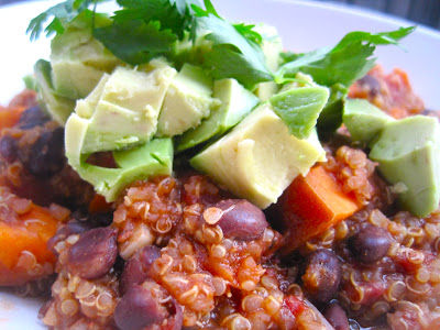 Quinoa & Sweet Potato Chili