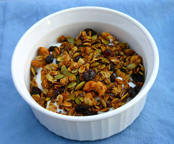 Orange-Spiced Granola