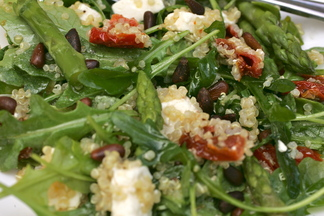 California Pizza Kitchen Style Quinoa &amp; Arugula Salad