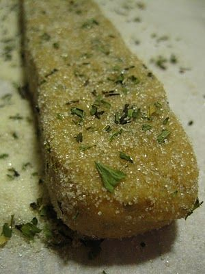 Mint-tea Shortbread