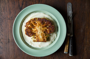 Dan Barber&#x27;s Cauliflower Steaks with Cauliflower Pure