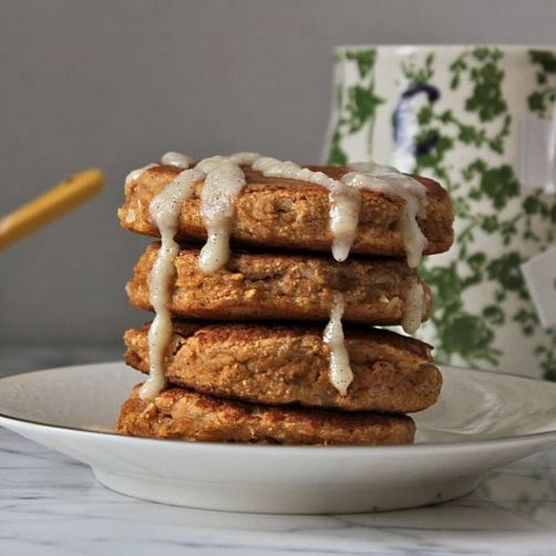 Coconut Chai Tea Pancakes