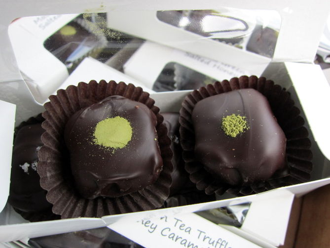 Cha-Cha Matcha Truffles