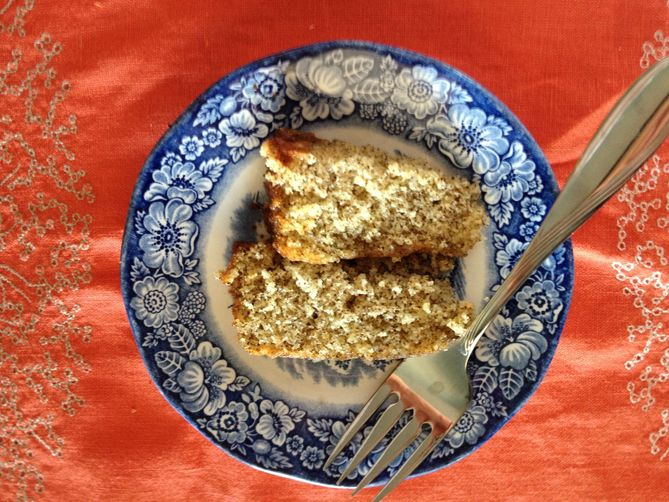 Cara Cara Orange-Earl Grey Tea Cake