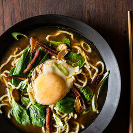 Bacon n egg ramen by Dominic Tambuzzo