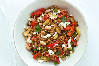 Wheatberry-salad