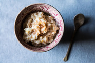 Coconut Milk Rice Pudding with Citrus and Ginger