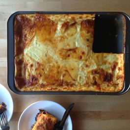 Versatile moussaka by Marilyn Ringwood