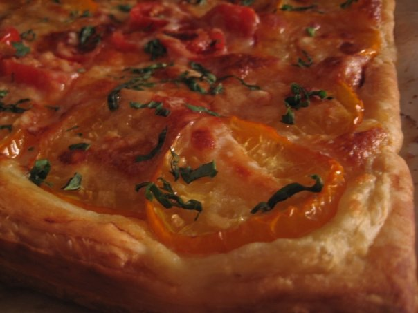 Fresh Tomato Tart
