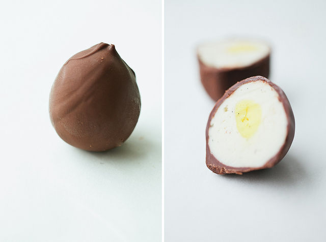 Homemade Creme Eggs