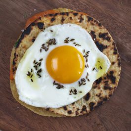 Sweet Potato & Fried Egg Quesadillas
