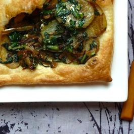 Dandelion__potato_and_onion_tart
