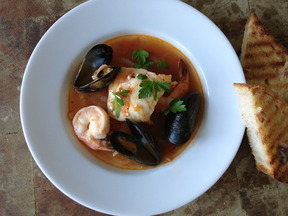 Spicy Seafood &amp; Fennel Soup