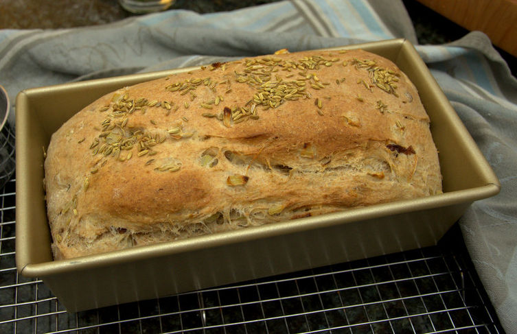 Fennel and Sultana Bread
