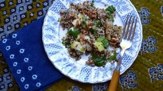 Quinoa Salad with Fennel and Apple