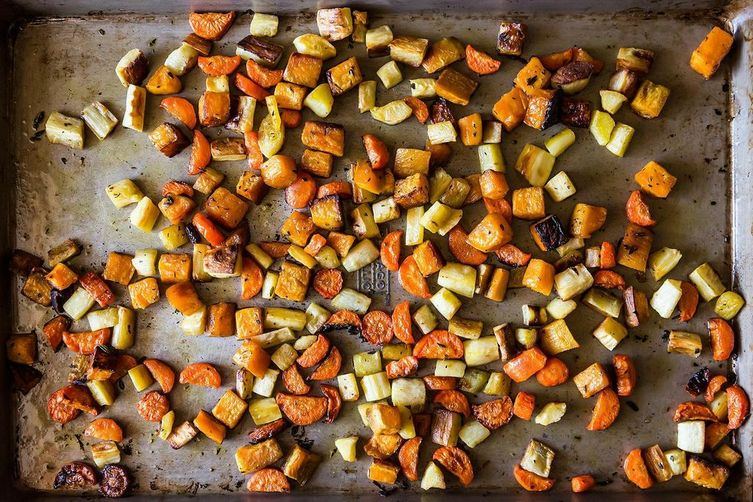 Roasted veg from Food52