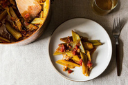 Marcella Hazan&#x27;s Braised Celery with Onion, Pancetta, and Tomatoes