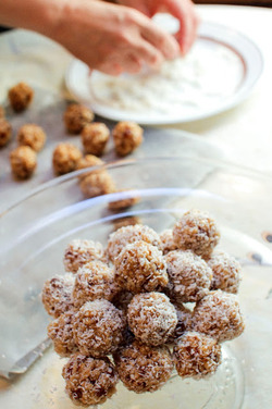 Bibis' Krispy Date Balls recipe from Food52