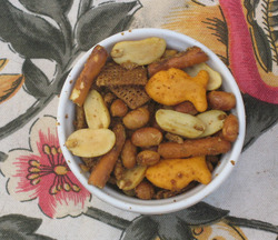 Slow Roasted Curry Snack Mix