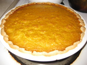 Pumpkin (or Sweet Potato) Pie