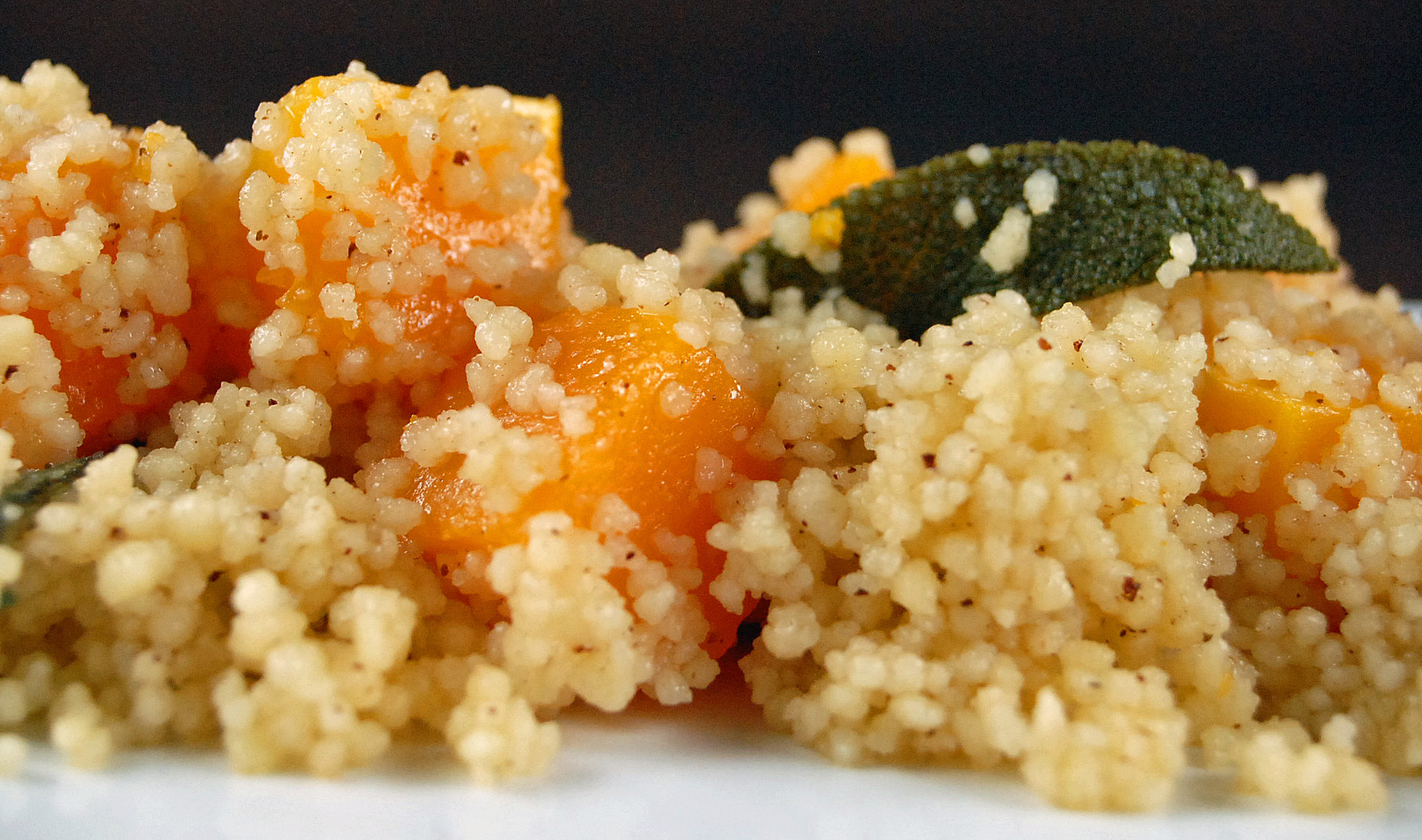 Butternut Squash, Browned Butter and Sage Couscous Recipe ...
