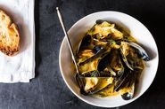 Mussels with Fennel, Italian Sausage &amp; Pernod