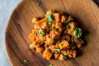 Sweet Potato Chana Masala