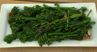 Rapini with Vin Cotto