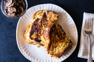 Savory Gruyre Stuffed French Toast